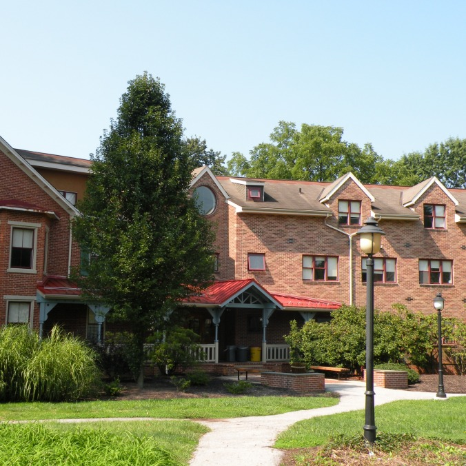 Musser Hall, la résidence où j'habite