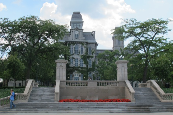 Syracuse University (photo prise par Nathalie)