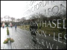 Le Vietnam Veterans Memorial