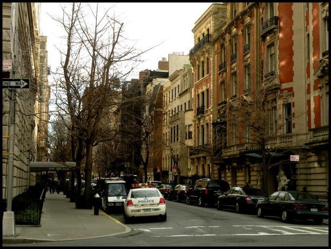 Les belles demeures de Manhattan- Upper East Side, le long de Central Park