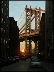 La vue la plus célèbre de Manhattan Bridge