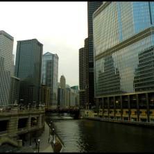 Dernière balade sur Michigan Avenue... La vue de mon pont préféré